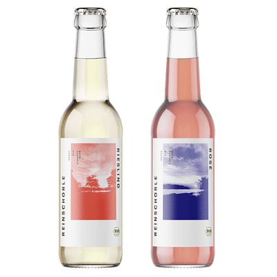 Bio-Weinschorle Mix - 3x REINSCHORLE Riesling + 3x REINSCHORLE Rosé