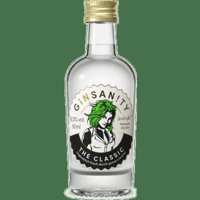 Ginsanity The Classic - Premium Dry Gin 50ml