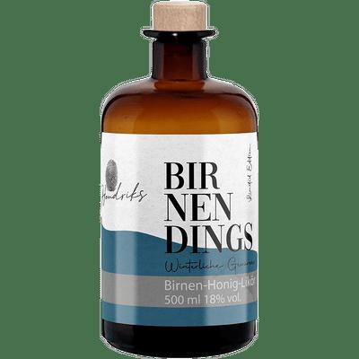 Hendriks Birnendings - Birnen-Honig-Likör