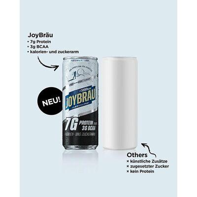 JoyBräu alkoholfrei PROTEINBIER LIGHT in der Dose (24x0,33l) 5