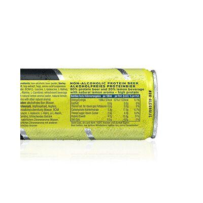 JoyBräu alkoholfrei PROTEINBIER ZITRONE in der Dose (24x0,33l) 5
