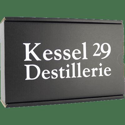 Kessel 29 Geschenkbox (3x Gin + 1x Nüsse + 1x Lit Mix getrocknete Früchte)