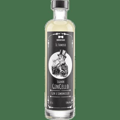 Gincello - Limoncello-Likör mit Gin 50ml