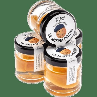 Le Mispel(s)che - Apfellikör mit Mispelfrucht im Glas
