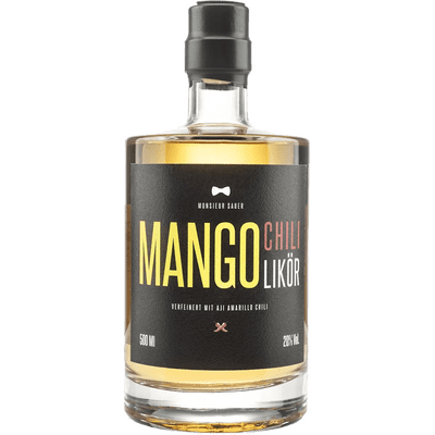 Monsieur Sauer - Mango-Chili-Likör