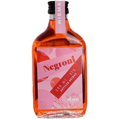 """Niemand Bottled """"Negroni"""" - Pre Mixed Cocktail"""