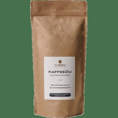 KaffeeDu - Espresso Classico - ganze Bohne