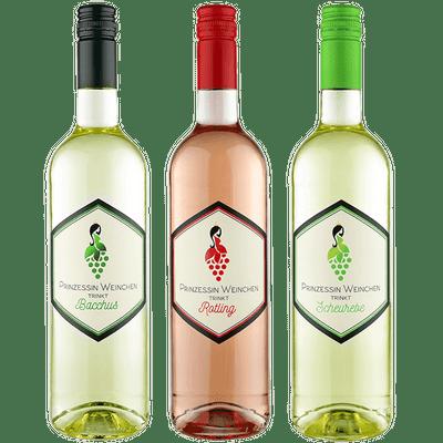 Prinzessin Weinchen Probierset (4x Weißwein + 2x Rosé)