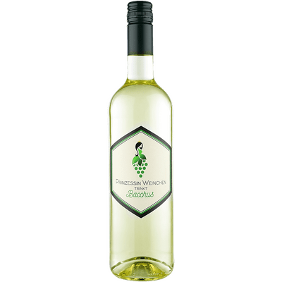 Prinzessin Weinchen trinkt Bacchus - Lieblicher Weißwein