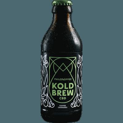 4x Koldbrew CBD - Cold Brew Coffee mit CBD