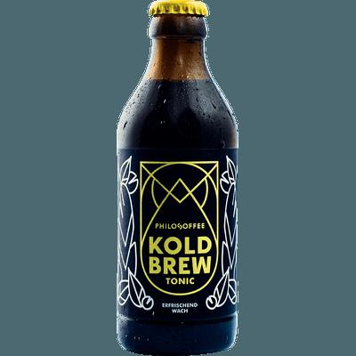 4x Koldbrew Tonic - Cold Brew Coffee mit Tonic Water