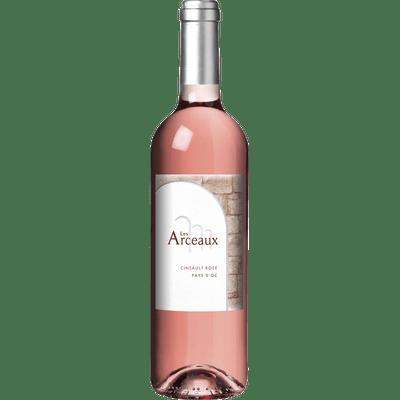 2018er Les Arceaux rosé