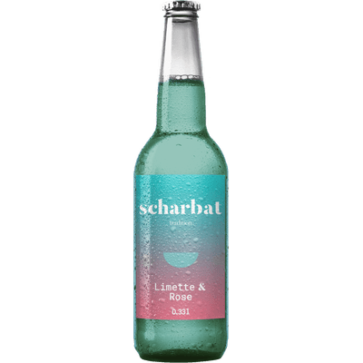6x Scharbat Limette & Rose