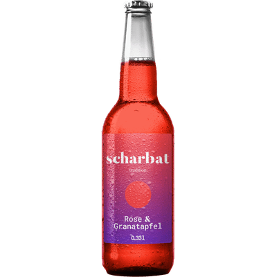 6x Scharbat Granatapfel & Rose